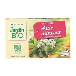 LEA NATURE JARDIN BIO INFUSION AIDE MINCEUR SAVEUR FRUITS ROUGES B20 SACHETS