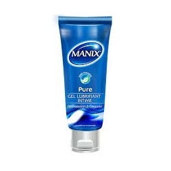 MANIX GEL LUBRIFIANT INTIME PURE 80ML