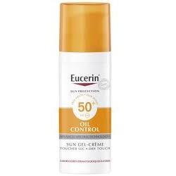 EUCERIN SUN PROTECTION OIL CONTROL SUN GEL CREME TOUCHER SEC SP50+ 50ML