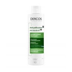 ANTI-PELLICULAIRE SHAMPOOING DERCOSTRAITANT CHEVEUX NORMAUX A GRAS VICHY 200ML