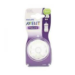 AVENT TETINES NATURAL +1MOIS B2