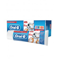 ORAL-B DENTIFRICE FLUORE JUNIOR 6ANS 75ML