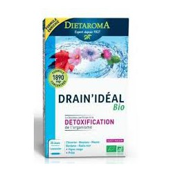 DIETAROMA DRAIN'IDEAL BIO DETOXIFICATION 10ML B20 AMPOULES