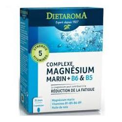 DIETAROMA MAGNESIUM MARIN + B6 ET B5 B60 CAPSULES