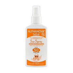 ALPHANOVA BEBE SUN SPRAY SPF50 125ML