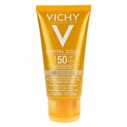 VICHY IDEAL SOLEIL Émulsion Toucher Sec Teintée SPF50