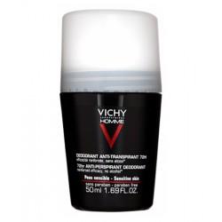 VICHY HOMME Déodorant Anti-Transpirant 72H bille contrôle extrême 50ml