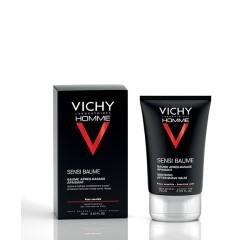 VICHY HOMME SENSI-BAUME. Baume après-rasage fortifiant peaux sensibles 75ml