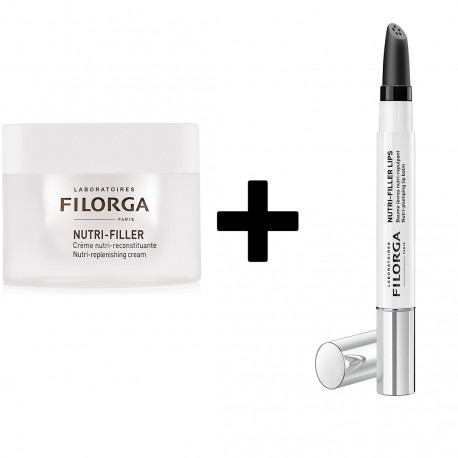 FILORGA PACK OBJECTIF NUTRITION SUPER NOURISHING NUTRI-FILLER 50ML + NUTRI-FILLER LIPS 4G EDITION LIMITEE