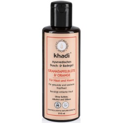 KHADI GEL DOUCHE & BAIN GRENADE & ORANGE BIO
