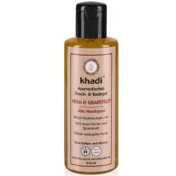KHADI GEL DOUCHE & BAIN NEEM & PAMPLEMOUSSE BIO