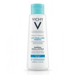 VICHY PURETE THERMALE Lait micellaire minéral-peau sèche 200ML