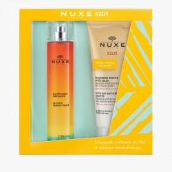 NUXE SUN COFFRET EAU DELICIEUSE 100ML + SHAMPOOING DOUCHE 200ML