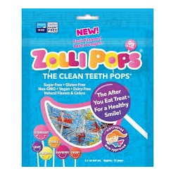 ZOLLIPOPS CANDIES THE CLEAN ANTI CAVITY B25